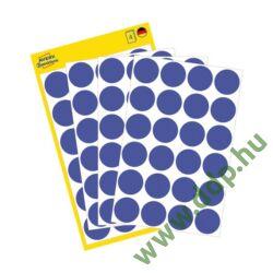 Etikett címke speciális visszaszedhető kék 18mm 4ív -3596- Avery-Zweckform