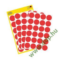 Etikett címke speciális visszaszedhető piros 18mm 4ív -3595- Avery-Zweckform