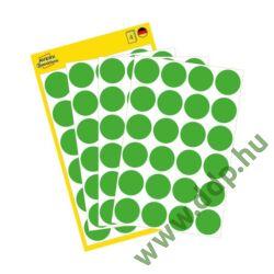 Etikett címke speciális visszaszedhető zöld 18mm 4ív -3597- Avery-Zweckform