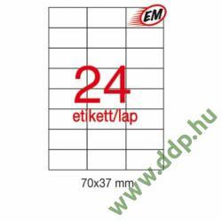 Etikett A1273 37x70mm 100ív LCA3135 Apli