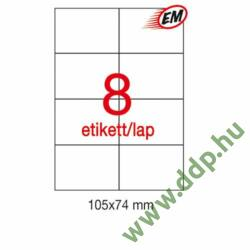 Etikett A1279 74x105mm 100ív LCA3140 Apli