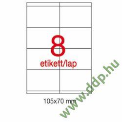 Etikett A1292 70x105mm 100ív LCA1292 Apli