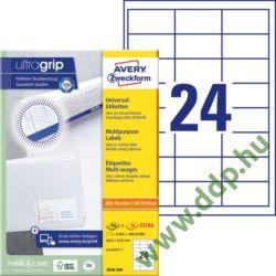 Etikett címke univerzális fehér 64,6x33,8 mm 220ív -3658-200- Avery-Zweckform