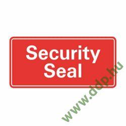 Etikett címke biztonsági lezárófólia -Security Seal- 78x38mm 7310 Avery-Zweckform