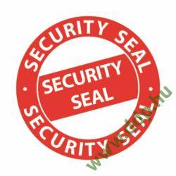 Etikett címke biztonsági lezárófólia -Security Seal- átmérő: 38mm 7312 Avery-Zweckform