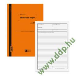 Ellenőrzési napló 25x3 lapos tömb A/4 álló C.18-72/V PÁTRIA -C.18-72/V-
