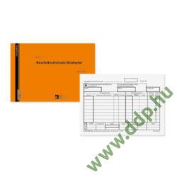 Készlet kivételezési bizonylat 25x4lap B.12-114/V Pátria