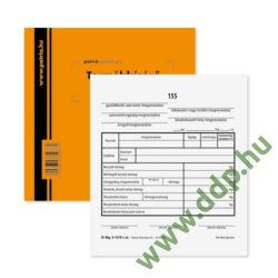 Termékkísérő jegyzék 25x4lap D.Mg.3-12/V Pátria -D.Mg.3-12/V-