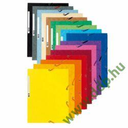Iratgyűjtő gumis A/4 karton prespán Exacompta kék mappa -P2110-0585-
