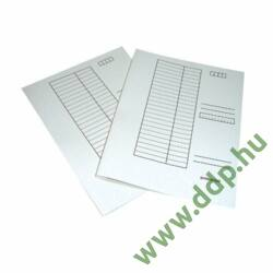 Gyorsfűző A/4 karton fehér Q-CONNECT -100001Q-