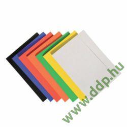 Iratgyűjtő gumismappa A/4 karton sárga Q-CONNECT/OFFICE PRODUCTS -21191131-06/KF15649-