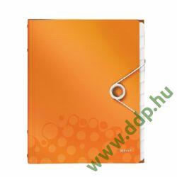 Rendezőmappa 12 részes műanyag Leitz WOW narancs -46340044-