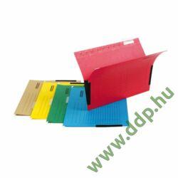 Függő irattartó oldalvédelemmel zöld DONAU függőmappa -7420905-06-