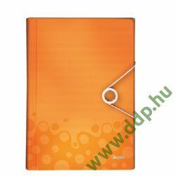 Irattartó harmonika LEITZ WOW PP, narancs -45890044-