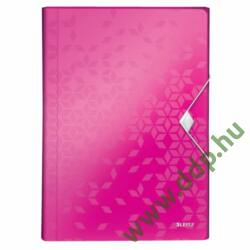 Irattartó harmonika LEITZ WOW PP, rózsaszín -45890023-