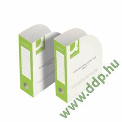 Iratpapucs karton 80mm Q-CONNECT -KF15845-