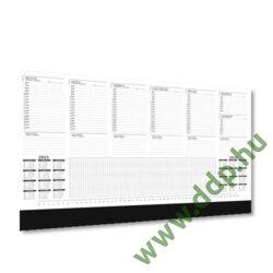 UNDENA Könyöklő 52 lapos UK-02 410x590mm fekete színű könyöklőcsíkkal