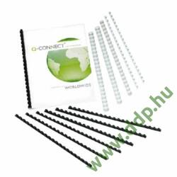 Spirál 14mm fehér műanyag (Kiszerelés: 100db/csm) Q-CONNECT -KF24052-