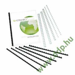 Spirál 22mm fekete műanyag (Kiszerelés: 100db/csm) Q-CONNECT -KF32116-