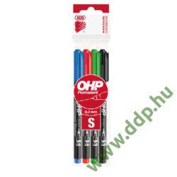 OHP Marker készlet 4db-os ICO S alkoholos filc -9070038000-