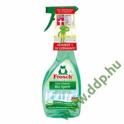 Ablaktisztító Frosch 500ml/750ml spiritusszal szórófejes
