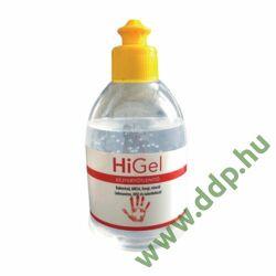 Kézfertőtlenítő gél HiGel 300ml - Baktericid, szelektív virucid, tuberkolocid, illatmentes