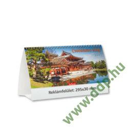 TOPTIMER Asztali naptár álló karton naptárháttal Csodálatos világ T661P 295x135mm