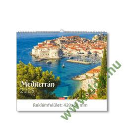 TOPTIMER Falinaptár Mediterrán hangulatok T093-20 420x310mm