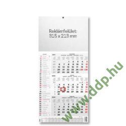 OPTIFORM Speditőr naptár Cargo F521 290x570mm Falinaptár üres fejrésszel