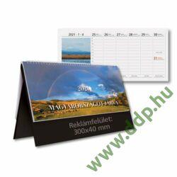 TOPTIMER Asztali naptár álló naptárháttal Magyarországot járva T560T 325x155mm