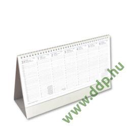 OPTIFORM Asztali naptár álló karton naptárháttal A312 325x195mm Irodai álló tartóval együtt, 30 lapos