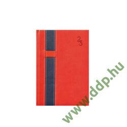 TOPTIMER Határidőnapló B/5 heti VARIO V011 piros-kék 170x245mm Előjegyzési naptár Agenda
