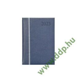 TOPTIMER Határidőnapló B/5 heti GROOVY G011 kék-ezüst-kék 170x245mm Előjegyzési naptár Agenda