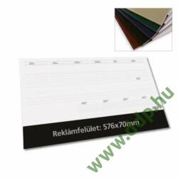 TOPTIMER Könyöklő Deskplan T110 26 lapos BEIGE színű könyöklőcsíkkal 576x407mm