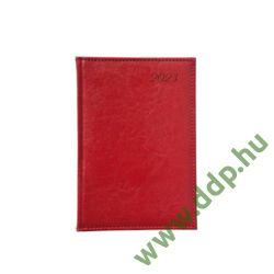 TOPTIMER Határidőnapló B/5 heti IMAGE I011 piros 170x240mm Előjegyzési naptár Agenda