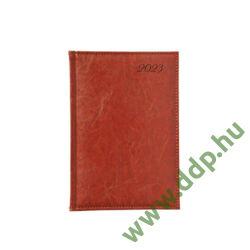 TOPTIMER Határidőnapló B/5 heti IMAGE I011 vörösesbarna 170x240mm Előjegyzési naptár Agenda