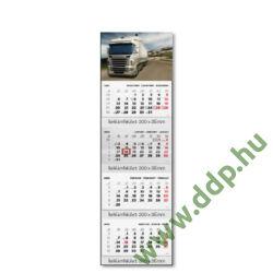 TOPTIMER Speditőrnaptár T073 4 tömbös képes Kamion 315x1065mm