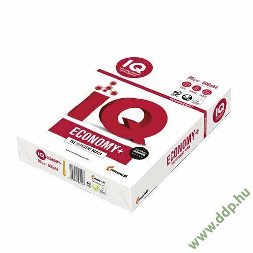 Fénymásolópapír A/4 80g IQ ECONOMY+ 500ív/csomag