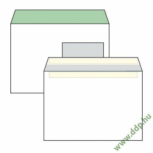 Boríték LC5 öntapadós ablakos jobb 45x90mm bélésnyomott (1C=100db)