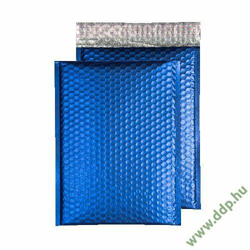 Tasak légpárnás szilikonos metallic 250x180mm C5+ kék