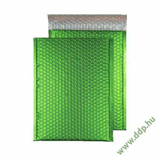 Tasak légpárnás szilikonos metallic 324x230mm C4 zöld