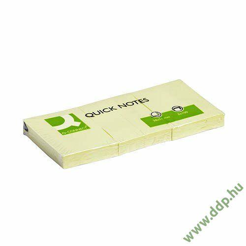 Öntapadós jegyzettömb 40x50mm Q-CONNECT -FT510282716/KF10500-