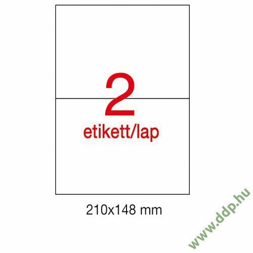 Etikett A1787 148x210mm 500ív Apli