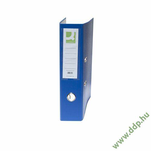 Iratrendező A/4 7,5cm kék élvédő nélkül Q-CONNECT