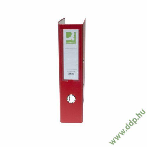 Iratrendező A/4 7,5cm piros élvédő nélkül Q-CONNECT