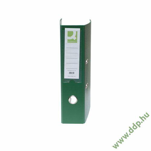Iratrendező A/4 7,5cm zöld élvédő nélkül Q-CONNECT