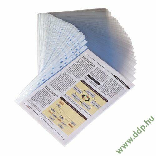 Genotherm A/4 lefűzhető víztiszta 100 micron KF14841 tasak (Kiszerelés: 100db/csm) Q-CONNECT