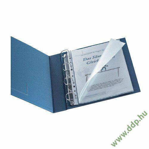 Genotherm A/4 lefűzhető víztiszta 150 micron oldalt és felül nyitott KF14842 tasak (Kiszerelés: 100db/csm) Q-CONNECT