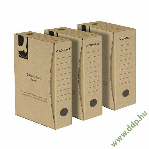 Archiváló doboz 150mm Natúr Q-CONNECT -KF15848-