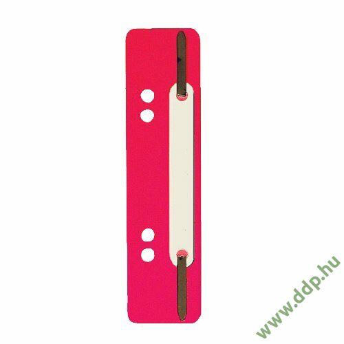 Gyorslefűzőcsík normál piros (Kiszerelés: 25db/csm) Q-CONNECT -2012500310-